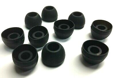 10 Rubber Cushion Earbud Ear Tips Plugs for Shure E3c E3g E4c E4g E5c -