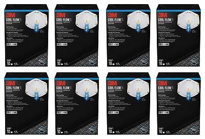 3m 8511pb1-a-ps Particulate Respirator Cool Valve 80 Masks 8511 Paint Sanding