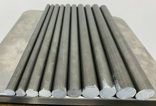 12L14 Steel Bar Stock Assortment 10 Round Bars See Description