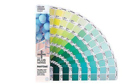 Pantone Plus Series Color Bridge 1845 Colors Coated Only Gg6103n New 2016