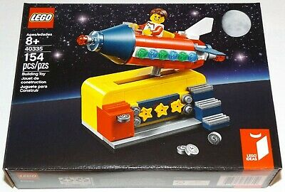 LEGO 40335 Space Rocket Ride Store Exclusive LEGO IDEAS fairground coin ride for sale  Shipping to Canada