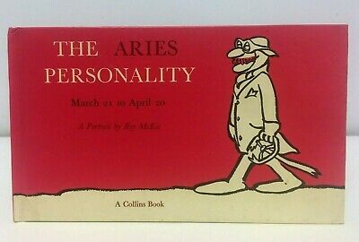 The Aries Personality Roy McKie Zodiac Sign Astrology Book Star Signs 1972 Aries Zodiac Personality