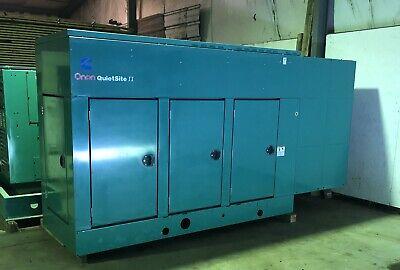 Cummins Onan 125 Kw Quiet Site Ii Nat. Gas Generator Set Ggkb W240 Hours