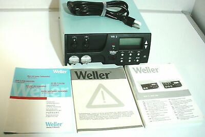 Weller Wr2 Dual Channel Digital Self-contained Rework Desoldering Station