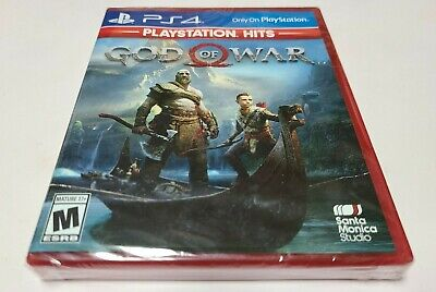 God Of War Hits (PlayStation 4, 2018) PS4 BRAND  NEW SEALED