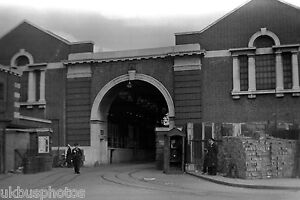 Streatham Tram Depot Exterior London 1950 Tram Photo