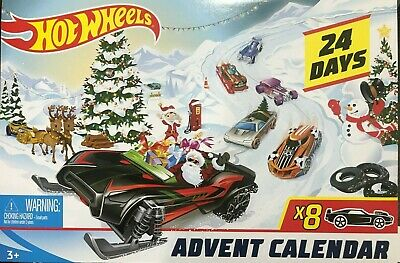 Hot Wheels - FYN46 - Advent Calendar Vehicles