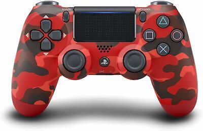 Sony DualShock 4 Wireless Controller - Red Camouflage BRAND NEW Camouflage Wireless Controller
