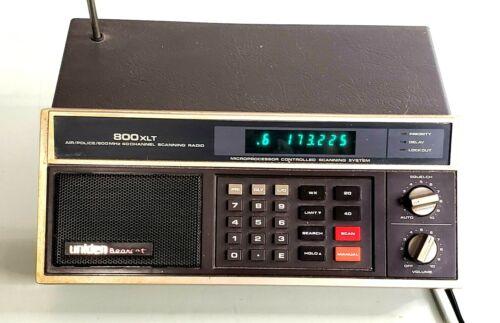 Vintage UNIDEN BEARCAT 800 XLT Police Scanner Scanning Radio
