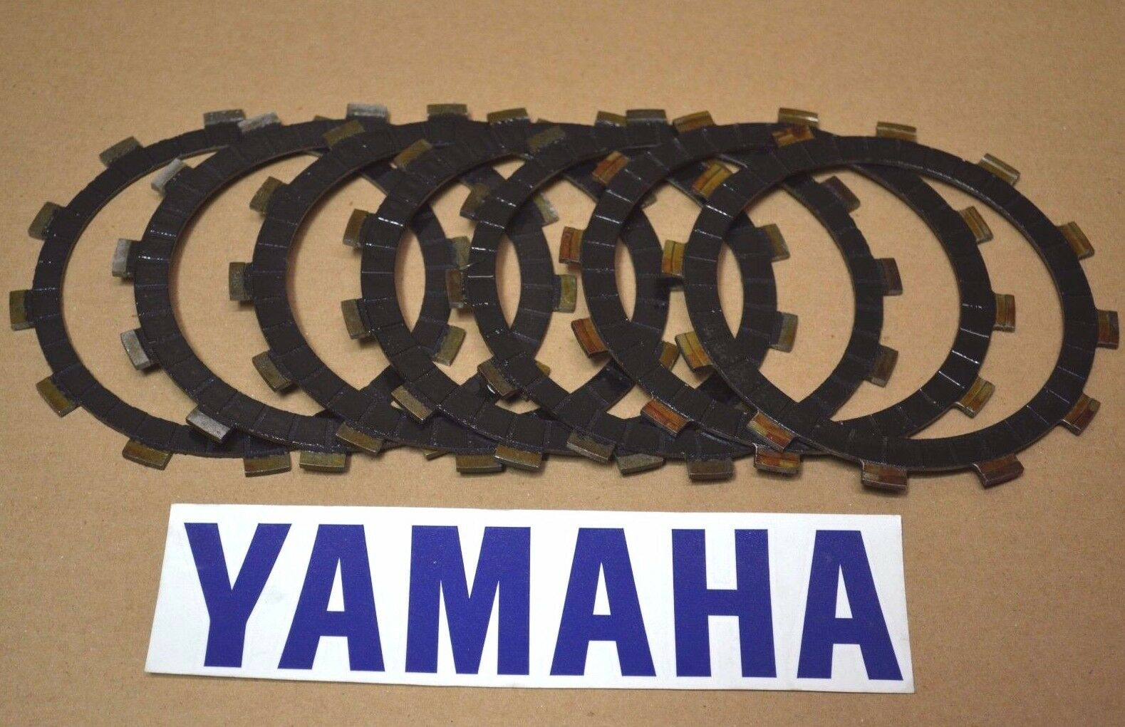 Yamaha Raptor 660 Clutch Basket Plates Friction Cushion Plates (X8) 2001-2005