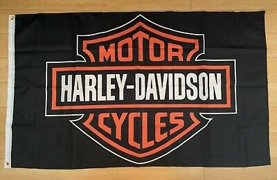 Harley Davidson 3x5 FT Flag Banner Car Garage Motorcycles