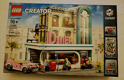 Lego Creator Down town Diner / 10260 / 2480 pcs. Year 2018 New never opened