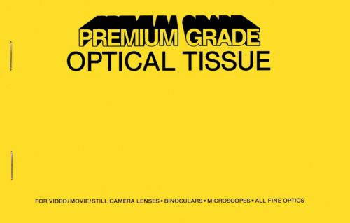 Premium Grade Lens Cleaning Tissue Paper