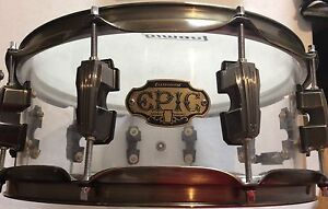 Ludwig Epic  clear acrylic 4 peace shell pack drum kit Adelaide CBD Adelaide City Preview