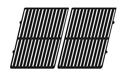 Music City Metals 69112 Gloss Cast Iron Cooking Grid Set for Weber Brand Gas ...