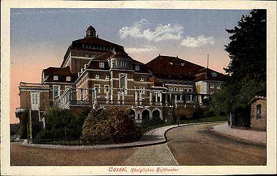 Cassel Kassel Hessen alte AK ~1910 Königliches Hoftheater Schauspielhaus Theater