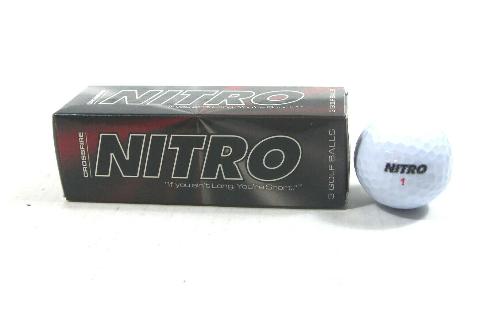 crossfire golf balls high energy titanium core