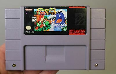 Super Mario World 2: Yoshi's Island (Super Nintendo, 1995) *CART ONLY*