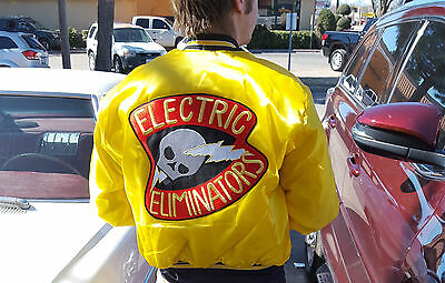 Halloween Party Movie (FANCY DRESS HALLOWEEN PARTY MOVIE WARRIORS PROP GANG PATCH: Electric)