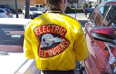 Kostüm Halloween Party Film Warriors Requisite Gang Patch: Elektrisch Eliminator (Elektrische Halloween Requisiten)