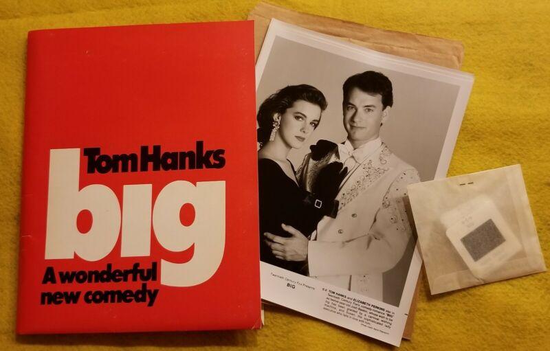 BIG original 1988 press kit TOM HANKS 7 photos 6 slides ELIZABETH PERKINS
