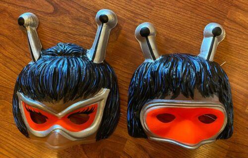 Vintage Ben Cooper Bugaloos Joy & IQ Masks Sid Krofft Unused Warehouse Stock