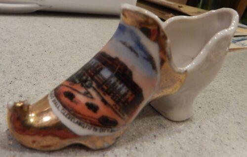 Cleveland Public Hall Cleveland, OHIO FIFTH City Souvenir Shoe Circa 1915