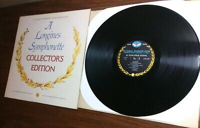 Longines Symphonette Society Collector's Edition NM+ classical LP record LWS 247