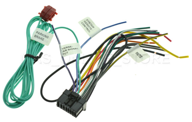 wire harness for pioneer avh p2300dvd avhp2300dvd wire harness for pioneer avh 200bt avh200bt pay today ships today