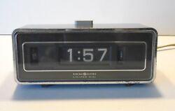 GE Rolling Number Digital Alarm Clock Lighted Dial