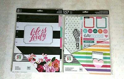 New Set Of 2 Create 365 Happy Planner Accessories Back To School Supplies