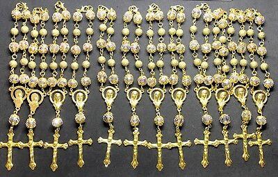 Rosary - 1-Decade Rosary  Pocket Rosary -  car rosary- car auto rosary lot of 12
