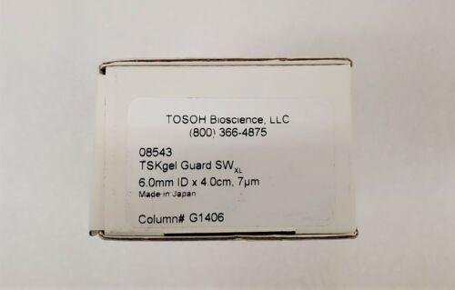 TOSOH TSKgel Guard SWxL Column  7 µm  6 mm x 4 cm  FOR 7.8mm Columns   # 08543