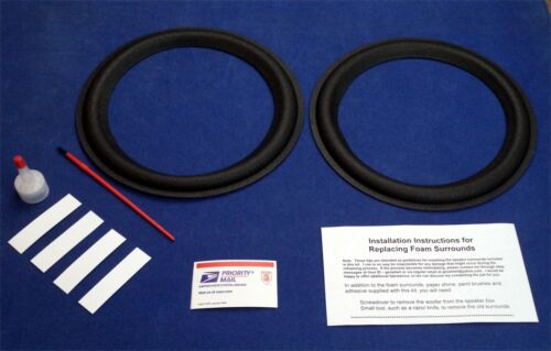 "Boston Acoustics 10"" A100 / A150 / A200 Woofer Refoam Kit / Speaker Repair Kit"