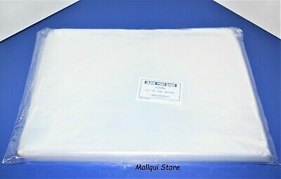 100 CLEAR 12 x 18 LAY FLAT OPEN TOP POLY BAGS PLASTIC PACKING ULINE BEST 1 MIL
