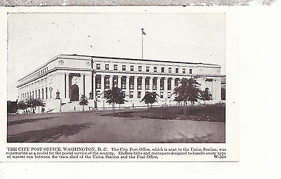 The City Post Office    Washington D C  Photo Type Postcard 297