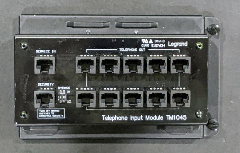 Legrand TM1045 10 port Telephone Input Module