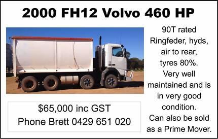 For Sale- 2000 FH12 Volvo 460 HP Kulja Koorda Area Preview