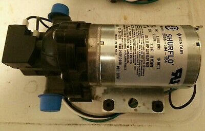 Shurflo Diaphragm Pump 2088-394-154 115v 3.2 Gpm 12.1lpm 45psi 3.1bar Pentair