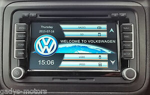 vw rns 510 sat nav volkswagen sat nav ebay. Black Bedroom Furniture Sets. Home Design Ideas