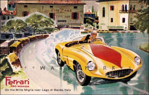 show exterior parts for Ferrari 750