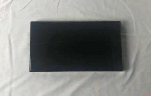 Black Granite Base for Fine Art Sculptures - 8 x 6 x 1 Rectangle