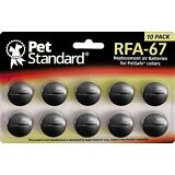 PetSafe Compatible RFA-67 Replacement Battery 10 pack