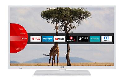 JVC LT-32V54LWA LED Fernseher 32 Zoll HD Ready Triple Tuner Smart TV WLAN BT