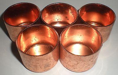 5 Plumbing Fitting 1-14 Copper Pipe Pressure Tube Solder Cap Epc Elkhart 30634