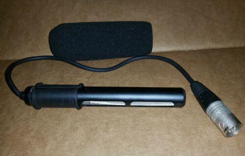 Genuine Sony Pro Condenser Shotgun Microphone 1-542-296- with XLR Mic connector