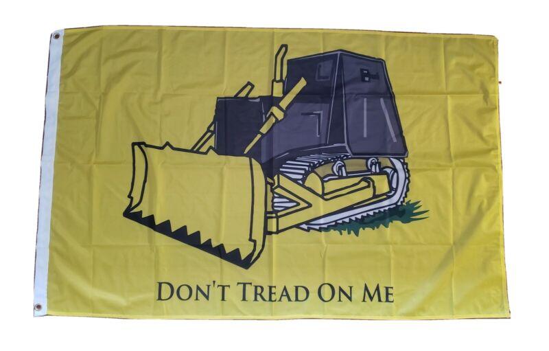 Killdozer Dont Tread On Me Flag