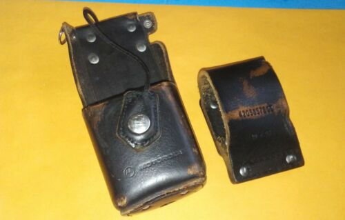 Motorola Leather Radio Holster Case for HT1000 XTS3000 XTS5000 W/Belt loop
