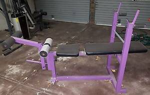 Hamstring Curl Machine plus Bar Willetton Canning Area Preview