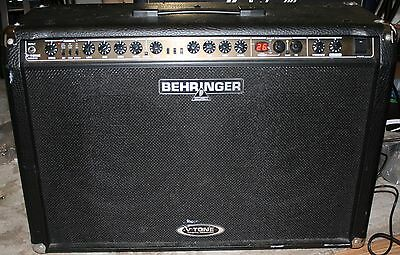 Behringer V-Tone GMX212 combo amp. w/footswitch, manual,& power cable. 2x60 watt (V Tone Behringer)